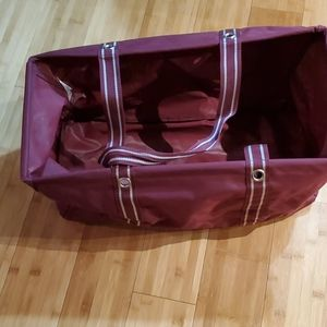 Thirty-one Deluxe Utility Tote Spirit Maroon
